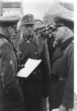 Ferdinand Schörner in Bulgaria, Mar 1941