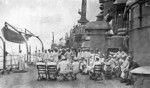 Band concert on USS New Mexico