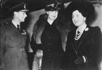 King George VI, Eleanor Roosevelt, and Queen Elizabeth, in London, England, United Kingdom, 23 Oct 1942