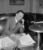 J. Edgar Hoover in his office, Washington DC, United States, 5 Apr 1940