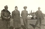Stefanica Paunescu with squadron mates, 1940s, photo 4 of 6