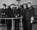 Commissioning ceremony of USS New Jersey, Philadelphia Navy Yard, Pennsylvania, United States, 23 May 1943, photo 24 of 25