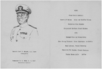Program of the first anniversary celebration aboard USS New Jersey, 23 May 1944, page 2 of 3