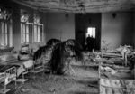Interior of the damaged Catholic Hospital of the Transfiguration, Praga District, Warsaw, Poland, Sep 1939