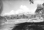 View of mountains north of Myitkyina, Shan, Burma, Dec 1944; photo taken by personnel of US 5332nd Brigade (Provisional)