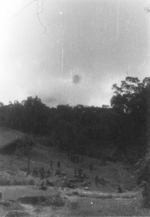 Village at Franglui, northern Burma, 3 Jan 1945; photo taken by personnel of US 5332nd Brigade (Provisional)
