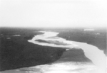 View of Irrawaddy River near Myitkyina, Kachin, Burma, Dec 1944; photo taken by personnel of US 5332nd Brigade (Provisional)