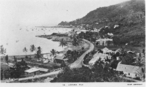 Postcard featuring scene of Levuka, Fiji, 1940s