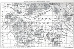 1919 British Admiralty chart of Scapa Flow, Orkney Islands, Scotland, United Kingdom.