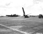 Wreck of B-17C bomber at Hickam Field, US Territory of Hawaii, 7 Dec 1941. Photo 2 of 2.