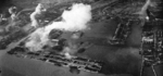 Surabaya under attack, Java, Dutch East Indies, 17 May 1944, photo 1 of 2