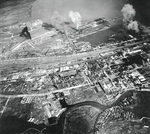 Surabaya under attack, Java, Dutch East Indies, 17 May 1944, photo 2 of 2