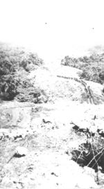 US column traveling across Fiji, 1942-1944, photo 1 of 3