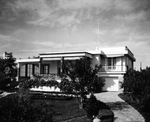 The Anfa House in Casablanca, Morocco, Jan 1943. This house was part of Camp Anfa on the grounds of the Anfa Hotel. Anfa House was Franklin Roosevelt's residence during the Casablanca Conference.