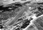Sep 1944 aerial photo looking south-southwest showing Kahului Naval Air Station on Maui, Hawaii.