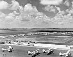 N3N and N2S aircraft at Naval Air Station Corpus Christi, Texas, United States, 1941-1942