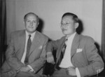 Brazilian Dr. Geraldo Horácio de Paula Souza and Chinese Dr. Shi Siming, circa 1945