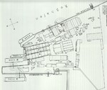Plan of Vulcan shipyard (later Howaldtswerke), Hamburg, Germany, 1919