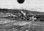 Kibi Sugar Refinery in Kizan, Takao Prefecture (now Qishan District, Kaohsiung), Taiwan under attack by B-25J bombers of USAAF 38th Bombardment Group, 14 May 1945