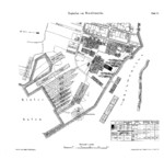 Plan of Howaldtswerke Kiel shipyard, 1878