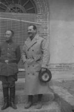 General Tang Enbo and photographer Harrison Forman, Henan Province, China, early 1943