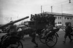 Japanese sailors on a truck, Shanghai, China, 1941, photo 1 of 3