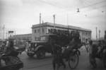 Japanese sailors on a truck, Shanghai, China, 1941, photo 3 of 3
