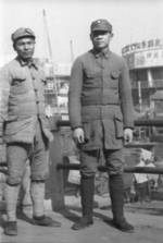 Chinese soldiers, Shanghai, China, 1941