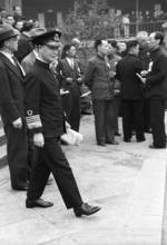 Admiral Chen Shaokuan arriving at the Second Plenary Session of the National Political Council, Chongqing, China, 17 Nov 1941