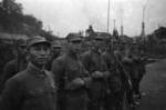 Chinese soldiers with Hangyang Type 88 rifles, Chongqing, China, 1940s