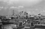 USS Augusta (background) at Shanghai, China, Aug-Sep 1937