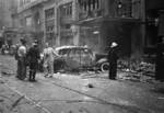 Palace and Cathay Hotels damaged by accidental bombing, Shanghai, China, 14 Aug 1937, photo 6 of 7