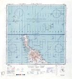 1944 United States Army map of northern Bougainville and Buka Island in the Bismarck Archipelago.