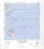 1944 United States Army map of Efate Island in the New Hebrides (now Vanuatu).