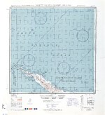 1944 United States Army map of northern Santa Isabel Island in the Solomon Islands.