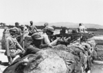 Chinese troops at Lugou Bridge, Beiping, China, Jul 1937