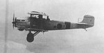 Japanese 2MB1 aircraft in flight, late 1920s
