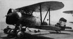 A2N2 biplane at rest, 1930s