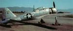 Captured A6M5 Model 52 fighter with US markings, Naval Air Station Anascotia, Washington, DC, United States, circa late 1945 or early 1946