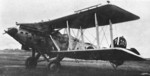 B2M biplane torpedo bomber at rest, date unknown