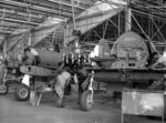 Boomerang fighters in production, Australia, 1943