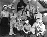 Crew of the Patrol Squadron 23 (VP-23) PBY-5A patrol bomber that found the approaching Japanese fleet