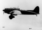 D3A2 dive bombers in flight, 1942-1943