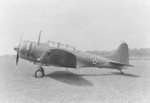 The first Douglas A-24-DE Dauntless aircraft (serial number 41-15746) at rest at El Segundo, California, United States 1941, photo 3 of 3