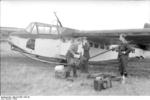 German Luftwaffe airborne troops loading a DFS 230 glider, Italy, 1943