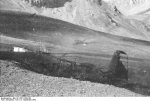 German DFS 230 C-1 glider being destroyed after use at Gran Sasso, Italy, 12 Sep 1943, photo 4 of 7