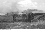 German DFS 230 C-1 glider being destroyed after use at Gran Sasso, Italy, 12 Sep 1943, photo 7 of 7