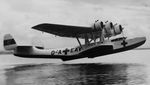 Do 24 float plane taking off, date unknown