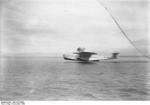 Do X aircraft taking off from Lake Constance on the border of Germany and Switzerland, Nov 1930