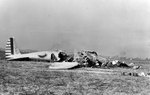 Crashed B-17 prototype Model 299, 30 Oct 1935